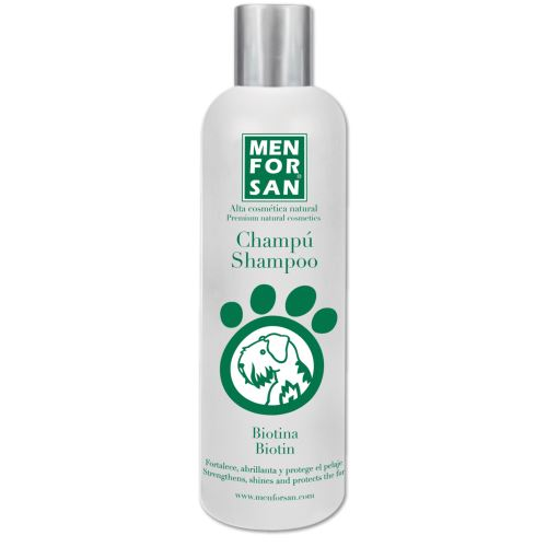 Menforsan Posilující šampon s biotinem pro psy 300 ml