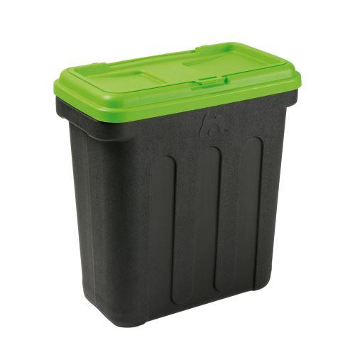 Maelson Box na granule pro 20 kg krmiva - černo-zelený - 54 x 31 x 58 cm