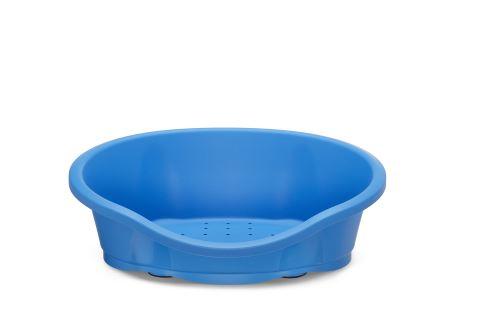 IMAC Plastový pelech pro psy - modrý - D 65 x Š 47 x V 22 cm