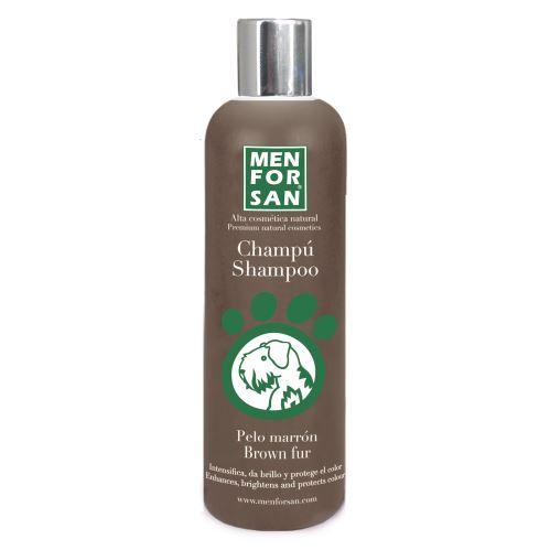 Menforsan Šampon pro zvýraznění hnědé srsti pro psy 300 ml