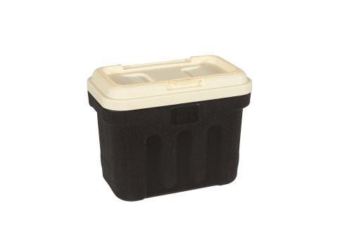 Maelson Box na granule pro 7,5 kg krmiva - černo-béžový - 41 x 25 x 33 cm