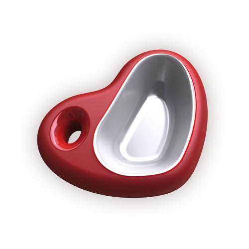 Plastová miska Argi - srdce - 750 ml
