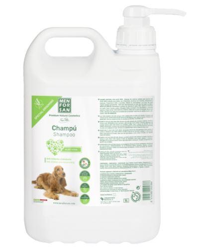 Menforsan Zklidňující šampon s Aloe Vera pro psy 5000 ml