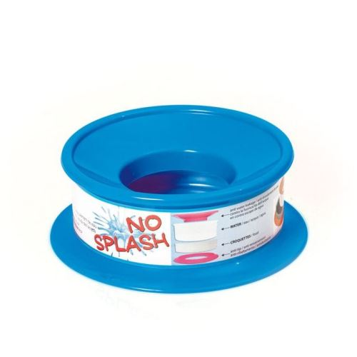 Nerozlitelná miska pro psy Argi - modrá - 22 x 9,5 cm
