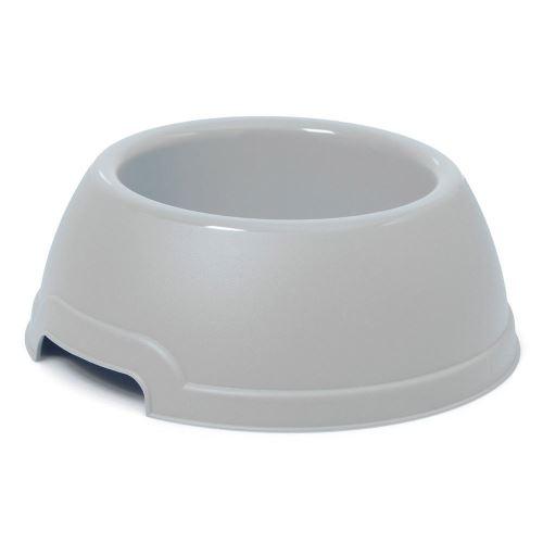 Plastová miska s protiskluzem Argi - červená - 1300 ml