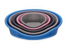 IMAC Plastový pelech pro psy - modrý - D 80 x Š 57 x V 24,5 cm