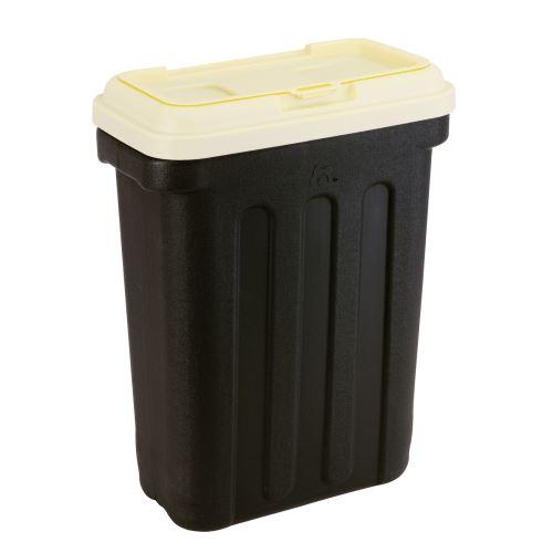 Maelson Box na granule pro 20 kg krmiva - černo-béžový - 54 x 31 x 58 cm
